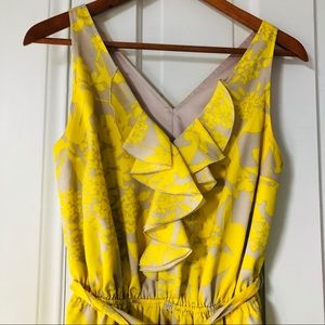 Express dress in summery yellow